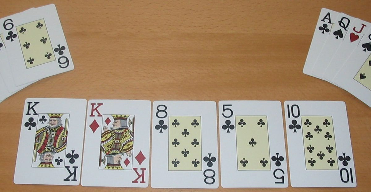 Types of hands in Texas Hold'em