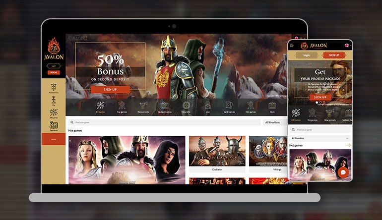 Experience The Best Gambling With Avalon78 Casino Review